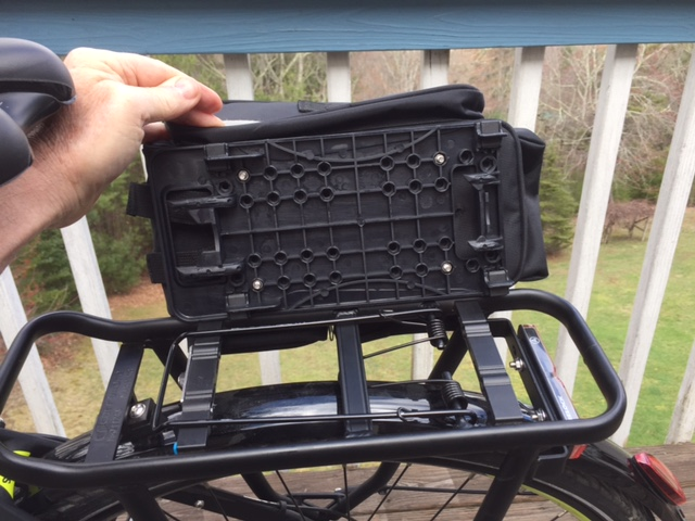 Haibike S Click In System For The Carrymore Rack
